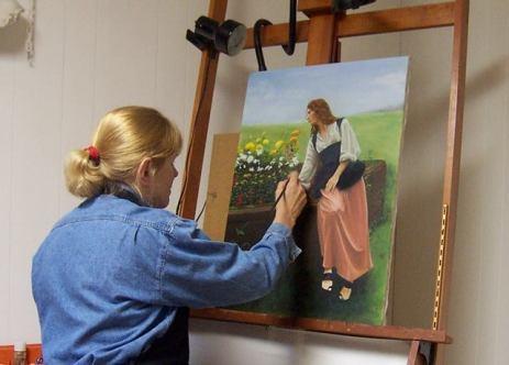 Blog Photo - SOTH Artist Painting