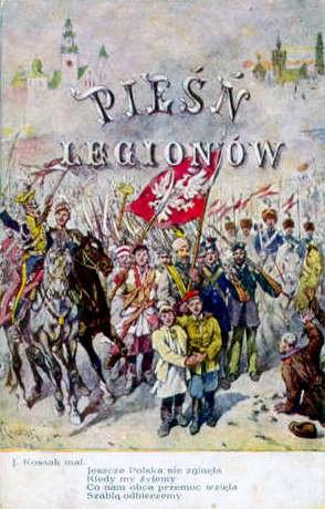 Blog Photo - SOTH Ron and Viviana A poster celebrating the Polish national anthem