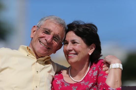 Blog Photo - SOTH Viviana and Ronald collaborating in sunshine