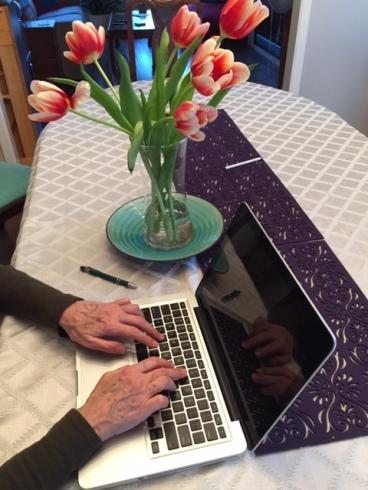 SOTH - FOTA Blog hands on laptop computer