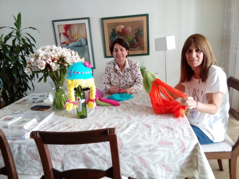 Blog Photo - SOTH Blog Viviana - Knitting wigs for girls with cancer