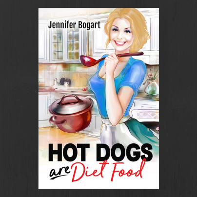 Blog Photo - Jennifer Book Cover Hot Dogs