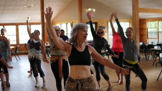 Blog Photo - FOTA Allison leads Bellydance Workshop