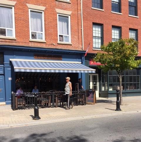 Blog Photo - FOTA Cobourg cafe and Pedestrian