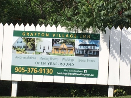 Blog Photo - FOTA Grafton Village Inn sign