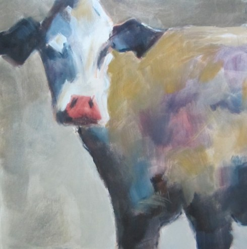 Blog Photo - FOTA Judy Hopkins Cow painting