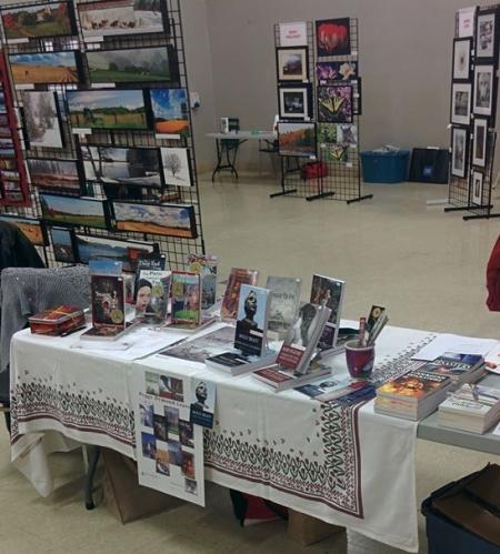 Blog Photo - FOTA Peggy Leavey booth at 2017 FOTA Book Fair