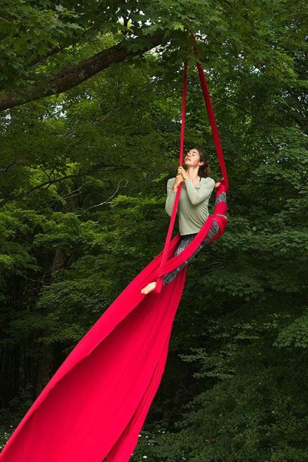 Blog Photo - FOTA Photo Comp Gabriela Surerus with Aerial Silks - Oona