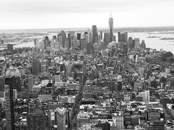 Blog Photo - FOTA Photo competition - View from The Empire State Building by Nate Bennett