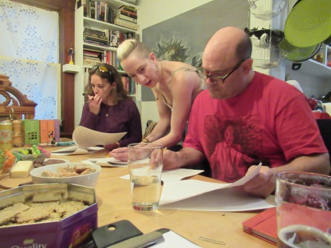Blog Photo - FOTA Ron MacKay play - Read-through of Einstein's Kitchen