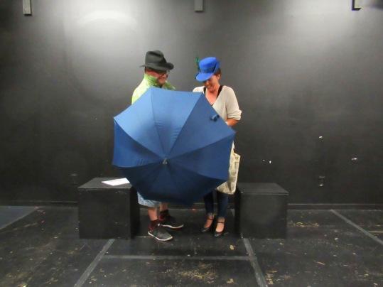Blog Photo - FOTA Ron Mackay Rehearsal Einstein's Fridge Albert Einstein and Lisbeth Feist