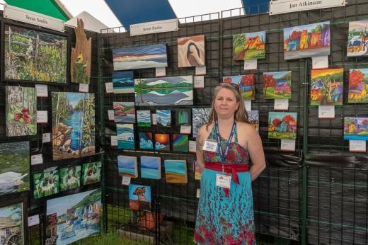 Blog Photo - FOTA Jenni Burke and her Paintings
