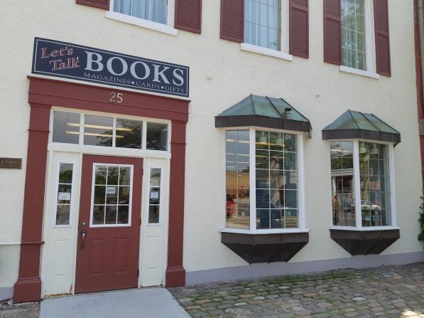 Blog Photo - FOTA Let's Talk Books Exterior