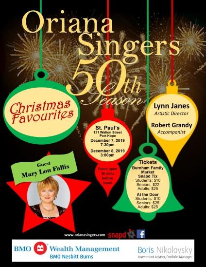 Blog Photo - FOTA Sponsor Oriana - Christmas Favourites Concert