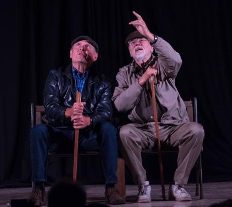 Blog Photo - FOTA Drama Love on a Park Bench - Opening Night